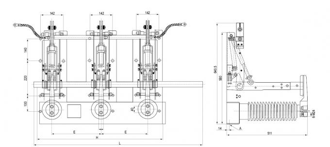 indoor high voltage earthing switch jn22 31 5ka