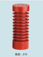 24kV Epoxy Resin Switchgear Support Insulator Light Weight 75X190mm Red Color
