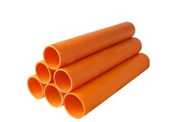 China MPP Material Electrical Conduit Plastic Pipe Corrosion Resistance Flexibility supplier