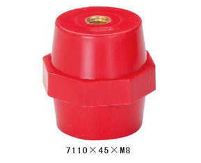 China DMC Material Low Voltage Electrical Standoff Insulators For Switchgear Equipment supplier