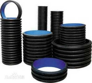 China Black HDPE Underground Electrical Conduit Plastic Pipe Low Temperature Resistance supplier