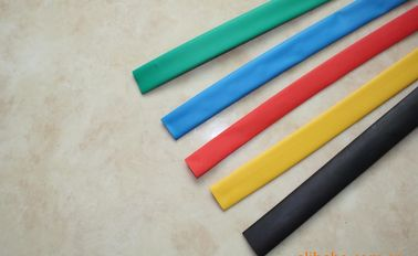 China Multi Colored PVC Thermo Heat Shrink Wrap Tubing For Electrical Copper Row supplier