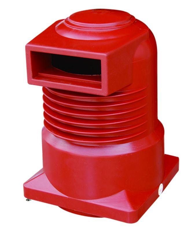 2500A 24kV HV Spout Epoxy Resin Insulator , Epoxy Resin Cast