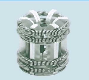 China 24 Pins Copper Electrical Contacts , 630A Silver Moving Tulip Contacts For VCB distributor