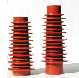 China 40.5kV High Voltage Epoxy Resin Insulator , Cast Resin Support Insulator distributor