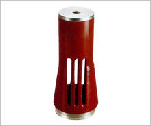 China 3150A Red Copper Vulcanization Contact For Indoor High Voltage Circuit Breaker distributor