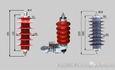 China Industrial 9kV Lightning Surge Protector , Lightning Arrester Used In Substation distributor