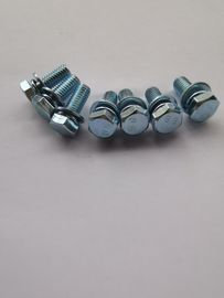 China Standard Steel Screws Nuts And Bolts With Zinc Plate Fit With Switchgear distributor